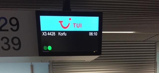 2018 Korfu Abflug Ddorf 1