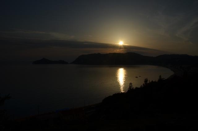 2018 Korfu Ag Georgios Sonnenuntergang 2