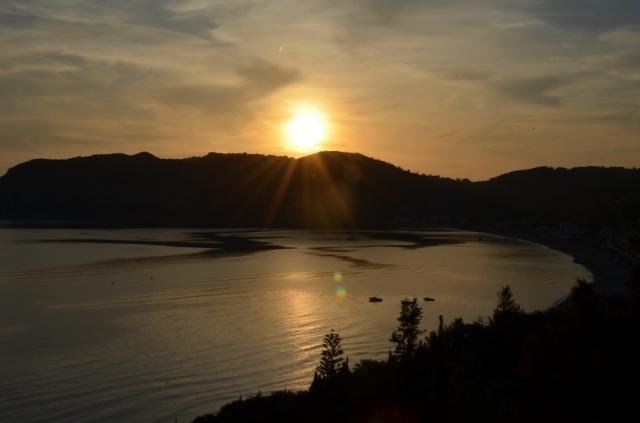 2018 Korfu Ag Georgios Sonnenuntergang 3