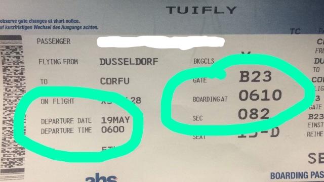 2018 Korfu Flugticket