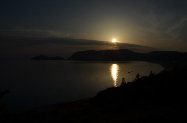 2018 Korfu Ag Georgios Sonnenuntergang 1