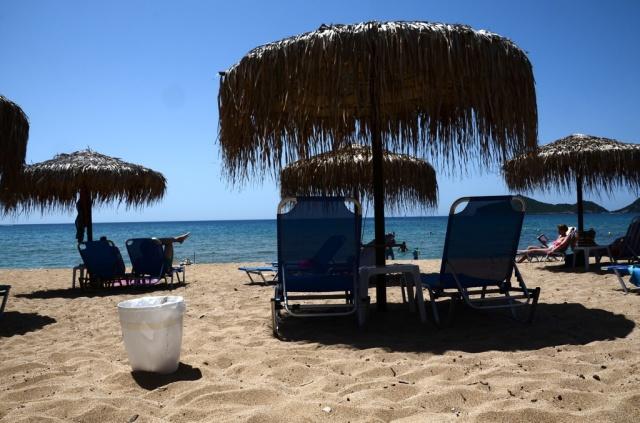 2018 Korfu Agios Georgios Strand 1