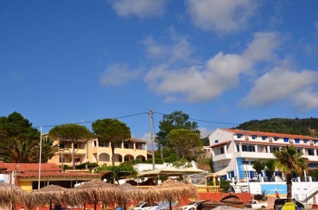 2018 Korfu Agios Georgios Strandpromenade