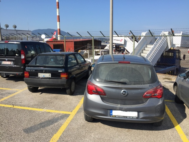2018-Korfu Mietwagen Airport